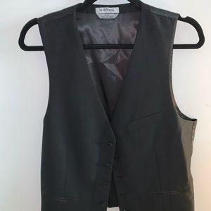 Black Le Chateau Suit Vest